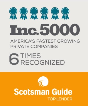 Scotsman Guide Inc 5000 6 times recognized